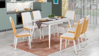 Kilim Mobilya Mutfak Masa Sandalye 2019 Modelleri Göz Dolduruyor