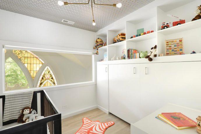 bebek odasi tavan duvar kağıdı modelleri