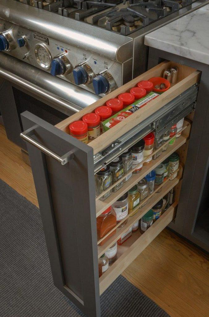pratik mutfak dolabı çekmecesi