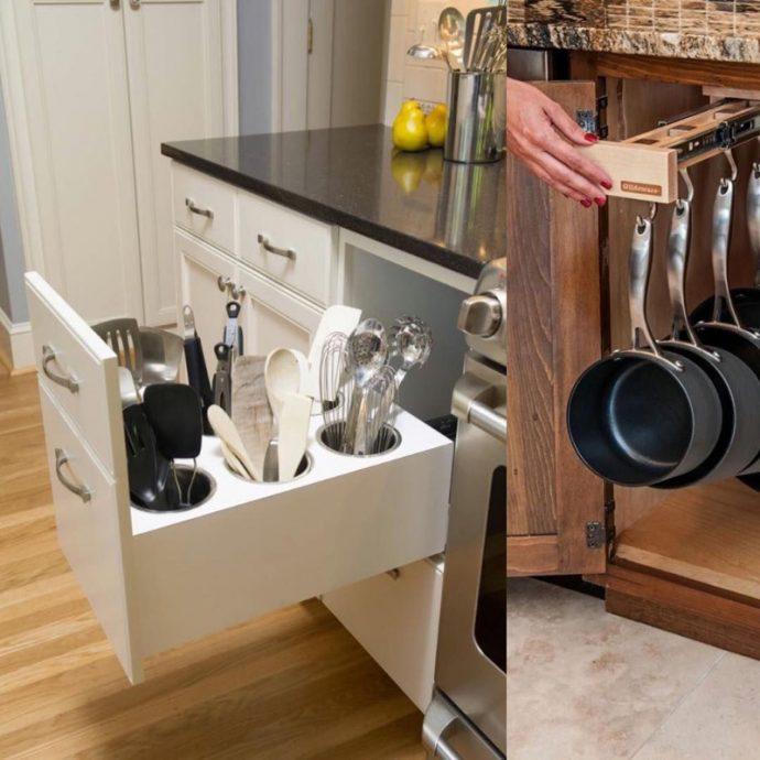 mutfak çatal bıçak kaşık çekmecesi