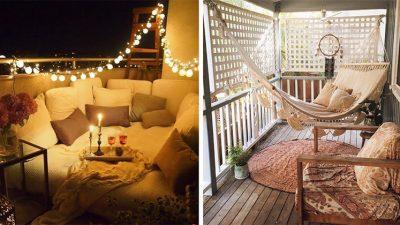 Balkon Dekorasyonu İçin 5 Güzel Fikir