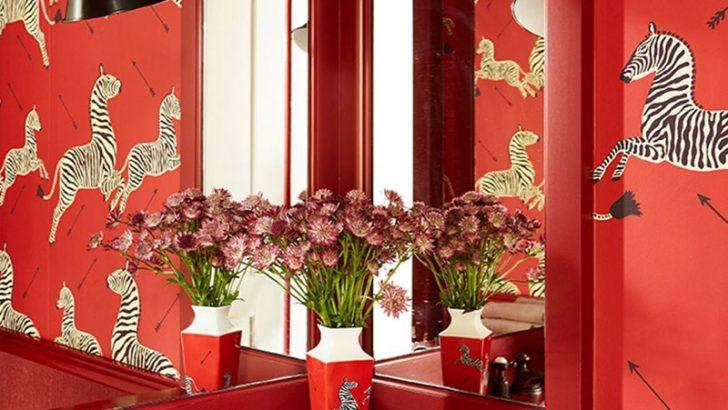 Banyo Duvar Kağıdı Modası 4 Farklı Model