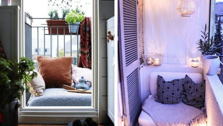 Balkon Koltuklari İçin İlginç Fikirleri